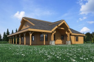 Log home plans and prices indiana