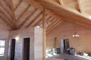 Prairie Ranch Timber Ceiling