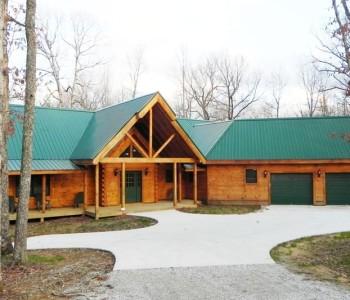 A Log Cabin by Countrymark Log Homes