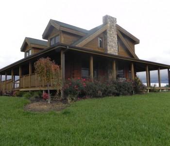 Countrymark Log Homes Blue Ridge