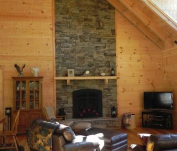 custom log homes