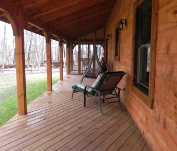 Hogan Creek Rear Porch