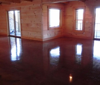 Prairie Ranch Basement Living Room