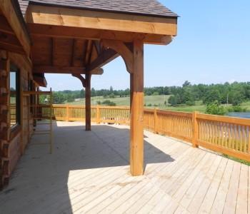 Prairie Ranch Rear Deck