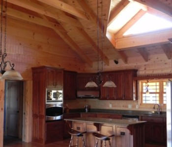 Prarie Ranch Kitchen with timbers web