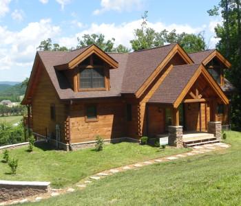 Rockwood Countrymark Log Homes Plan