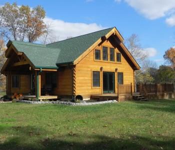 Salem Ridge Hybrid Log Home (2)