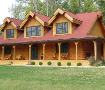 affordable log homes
