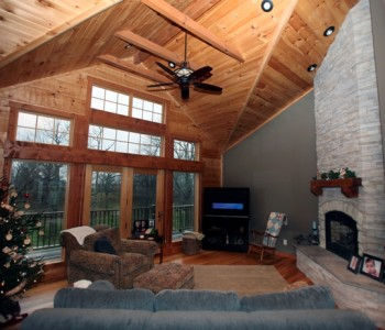 Hybrid Log Homes in Indiana