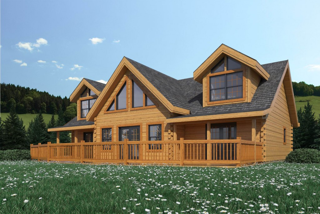 Countrymark Log Homes Rockwood