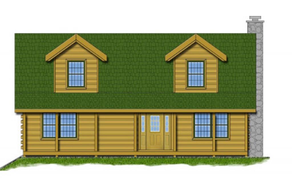 Countrymark Log Homes Kentucky River