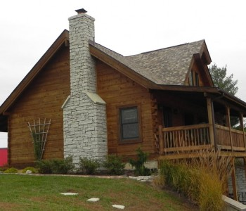 Countrymark Log Homes   Log Home Photo Gallery